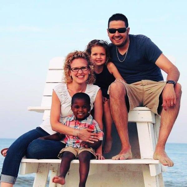 Dana's family photo