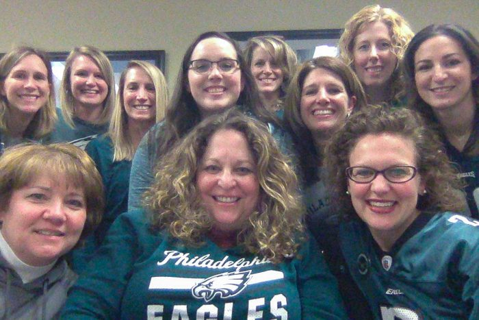 myHR partner team with their Eagle's gear