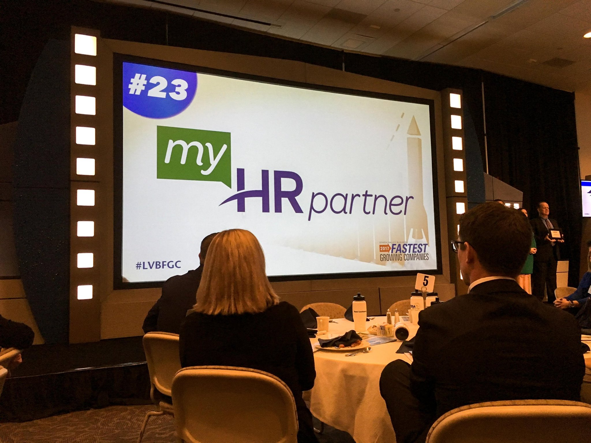 myHR Partner featured on a presentation for fastest growing companies